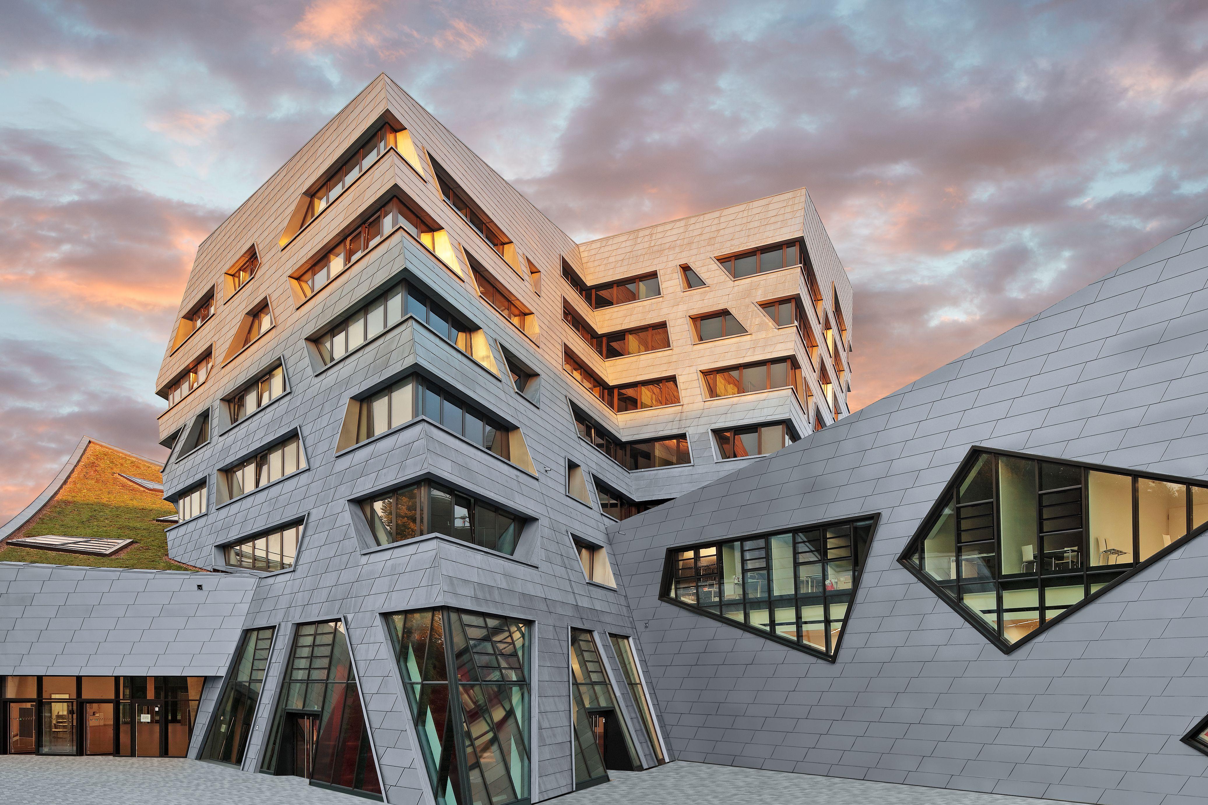 Favorit Fassadensysteme von RHEINZINK entdecken | rheinzink.de YV77